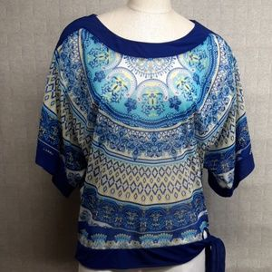 INC International Concepts Blouse - EUC
